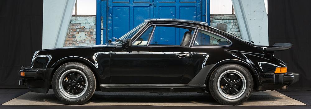 classic Porsche 930 Turbo