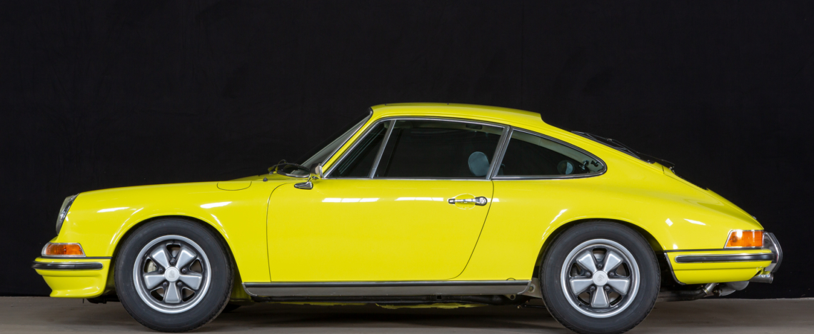 Porsche 911 S, Sunroof, 1972