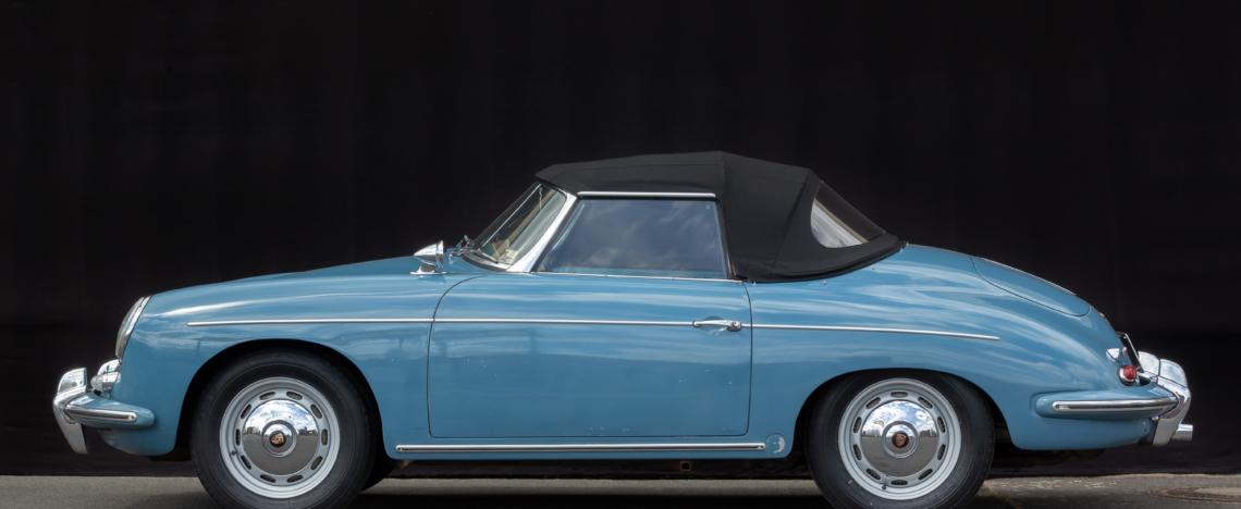 Porsche 356 Roadster, 1961