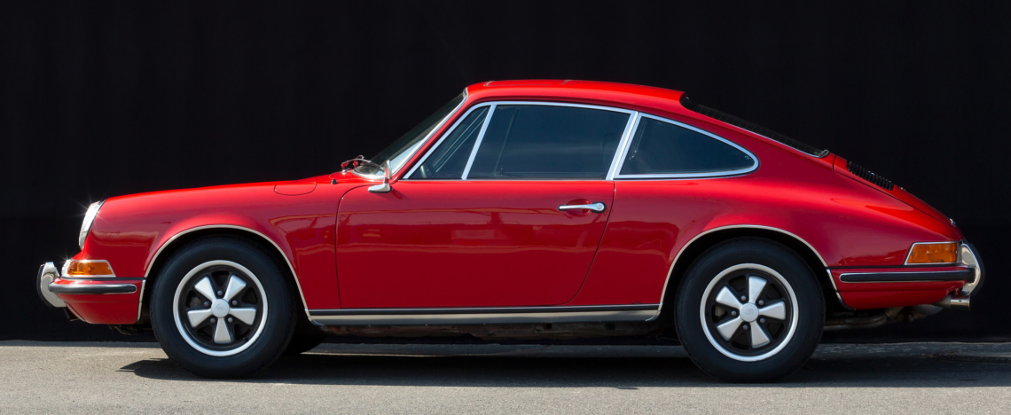 Porsche 911 T, Sunroof, 1972