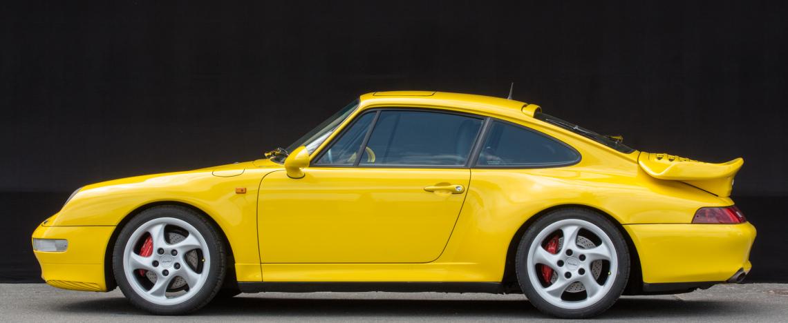 Porsche 993 Turbo, 1997